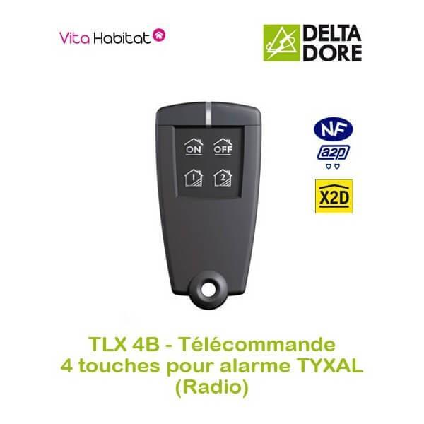 Delta dore micro tybox radio x2d good la zibase suouvre for Alarme maison delta dore