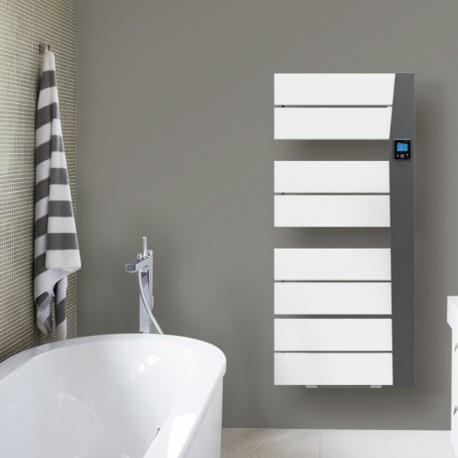 seche serviette electrique soufflant applimo balina 1500 watts gris. Black Bedroom Furniture Sets. Home Design Ideas
