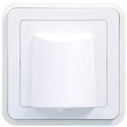 cubyko Sortie câble ass. blanc HAGER WNA155B