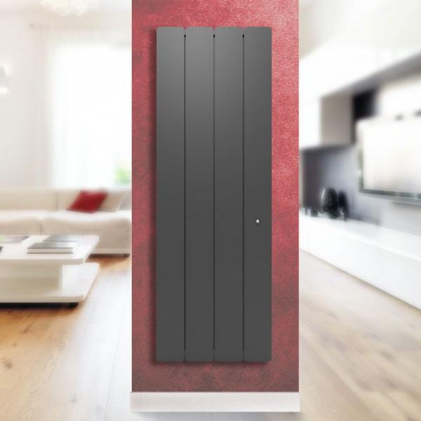 radiateur fonte pegase smart ecocontrol 2000w vertical gris applimo 0011947sehs vita habitat. Black Bedroom Furniture Sets. Home Design Ideas