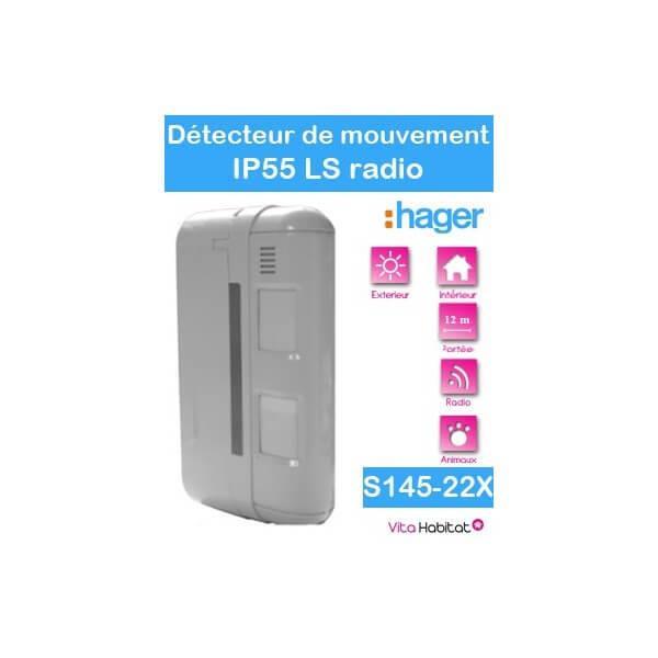 Exceptional Detecteur De Mouvement Hager #2: Detecteur-de-mouvement-exterieur-2x12m-special-animaux-facade-ip-55-s145-22x-logisty-hager-pile-lithium-fournie.jpg