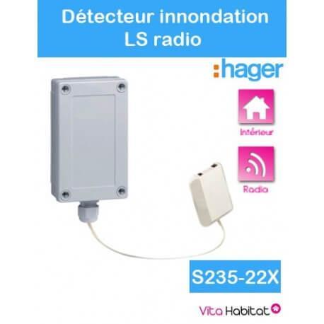 Détecteur d'inondation - Logisty Hager - S235-22X