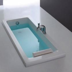 BAIGNOIRE SHARM RECTANGLE  AVEC STRUCTURE - CRISTINA ONDYNA COLBSR170