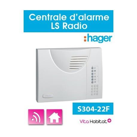Centrale Radio sans fil Logisty Hager - S304-22F