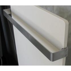 Barre sèche-serviette Inox pour radiateur VALDEROMA longeur 102cm profondeur 8cm- SS8100B