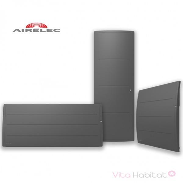 Radiateur Fonte Airelec Adeos Smart Ecocontrol 1000w Bas Gris Anthracite A693653
