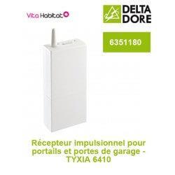 TYXIA 6410 Récepteur impulsionnel pour portails et portes de garage - DeltaDore 6351180