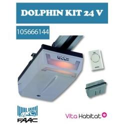 Kit Dolphin D600 + Rail chaîne 3 m -  FAAC pour Porte de Garage -  24 V