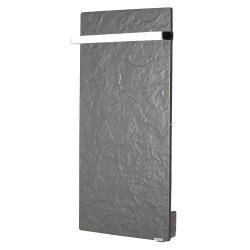 Sèche-serviettes TOUCH SILICIUM Ardoise Noire 800W Vertical - VALDEROMA AN08BLT