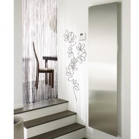 radiateur electrique acova altima aluminium vertical 1250w. Black Bedroom Furniture Sets. Home Design Ideas