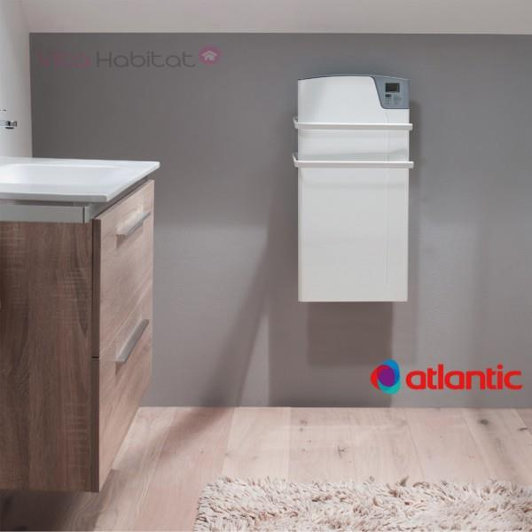 s che serviette soufflant atlantic kea blanc 1400w 800w. Black Bedroom Furniture Sets. Home Design Ideas
