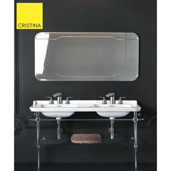 Cristina ondyna wd15070 miroir waldorf 150 - Miroir salle de bain 150 ...