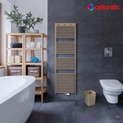 Sèche-serviettes eau chaude DORIS 2 raccordement centré ATLANTIC 943W - 850295