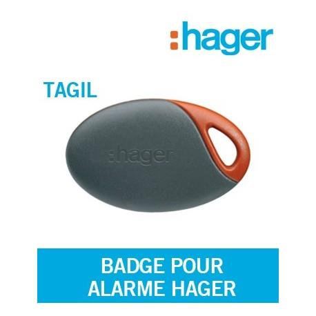 Badge Tagil pour alarme Logisty Hager