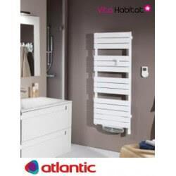 S che serviettes soufflant atlantic adelis int gral ventilo vita habitat - Thermostat seche serviette atlantic ...