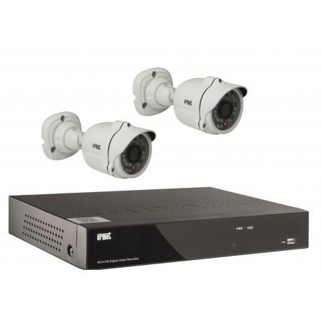 Kit ip 2 cam+1nvr - URMET 1093/KIPPRO