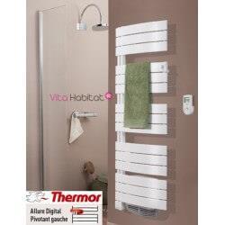 Sèche serviettes soufflant THERMOR  ALLURE Digital 1750W - Pivotant Gauche - 3CS - 490 561