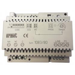 2voice relais bus configurable - URMET 1083/80