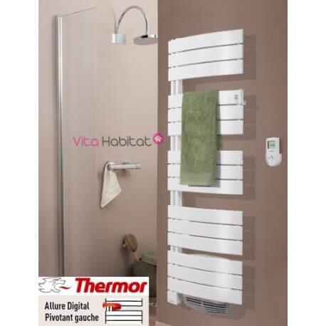 Sèche serviettes soufflant THERMOR  ALLURE Digital 2000W - Pivotant Gauche - 3CS - 490 571