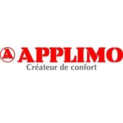 """Jeu de 2 pieds de soutien """"cloison fragile"""" APPLIMO pour radiateur Anthracite - 0052051HS"""