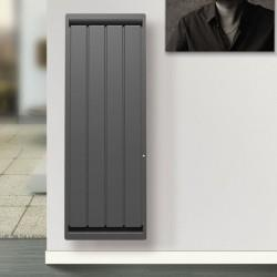 Radiateur electrique Fonte APPLIMO - SOLEIDOU Smart ECOcontrol 1000W Vertical Anthracite 0013763SEHS
