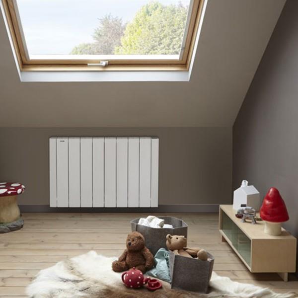 radiateur electrique acova volga 1500w inertie fluide. Black Bedroom Furniture Sets. Home Design Ideas