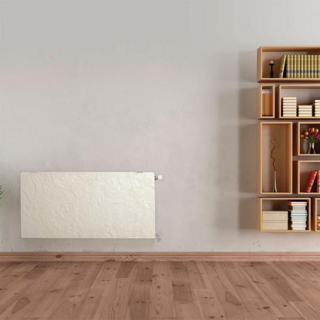radiateur chauffage central h2o dk33 horizontal ardoise. Black Bedroom Furniture Sets. Home Design Ideas