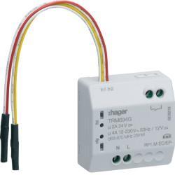 Micro-module multifonction Radio Hager 1 sortie LPD 4A + 2 entrées KNX - TRM694G