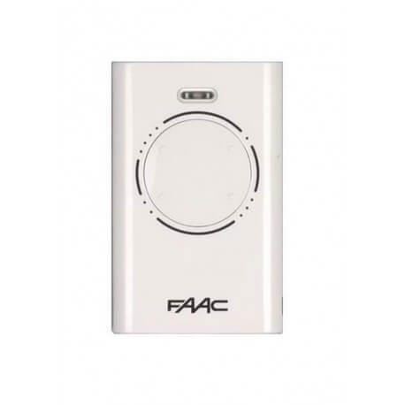 Télécommande FAAC XT4 868 SLH Emetteur 4 Canaux BLANC - 787010