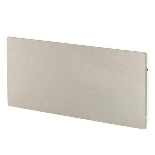 radiateur inertie tactilo horizontal sable blanc 1500w. Black Bedroom Furniture Sets. Home Design Ideas