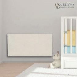 Radiateur à inertie TACTILO Horizontal Sable Blanc 2000W - Valderoma SB2000A