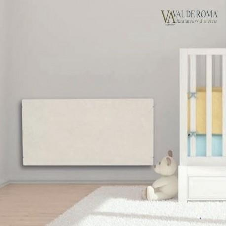 radiateur inertie tactilo horizontal sable blanc 2000w. Black Bedroom Furniture Sets. Home Design Ideas