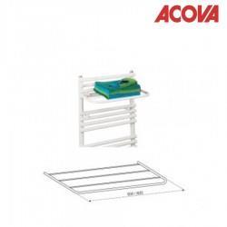 Tablette porte-serviettes 60 cm - BLANC - pour ACOVA Cala - 480931