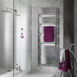 Sèche-serviette soufflant ACOVA - CALA + AIR Chromé 1402W (402W+1000W) LN0-112-050-IFS