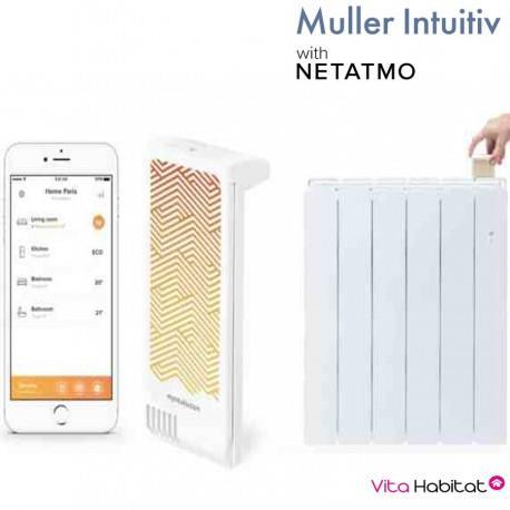 Module Muller Intuitiv with Netatmo Blanc - APPLIMO - NEN9241AA