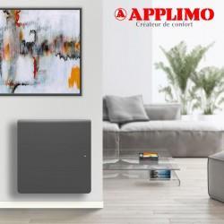 Radiateur Fonte LENA Smart EcoControl 1250W Horizontal gris - APPLIMO 12164SEHS