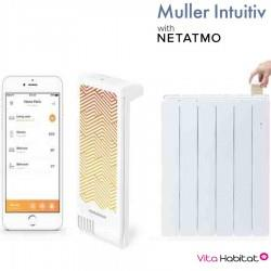 Module Muller Intuitiv with Netatmo Blanc - AIRELEC - NEN9241AA