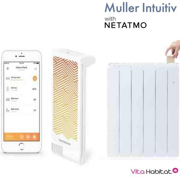 Module Muller Intuitiv With Netatmo Blanc Airelec Nen9241aa