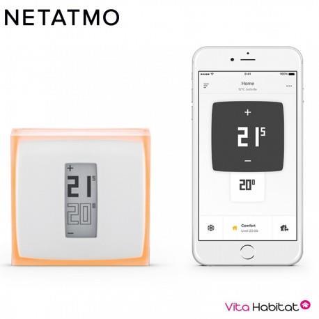 thermostat connect netatmo nth01 fr ec. Black Bedroom Furniture Sets. Home Design Ideas
