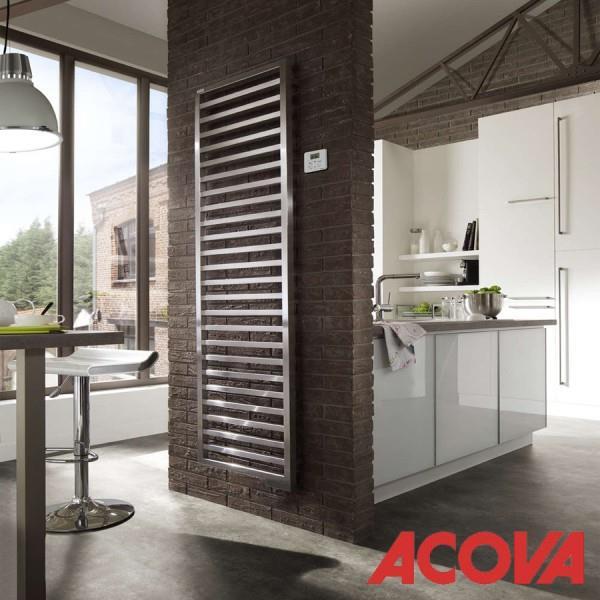 radiateur lectrique vertical kadrane chrom acova. Black Bedroom Furniture Sets. Home Design Ideas