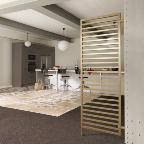 radiateur electrique vertical acova kadrane inox. Black Bedroom Furniture Sets. Home Design Ideas
