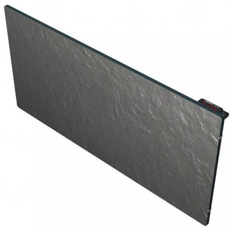 radiateur inertie tactilo horizontal ardoise noire 2000w. Black Bedroom Furniture Sets. Home Design Ideas