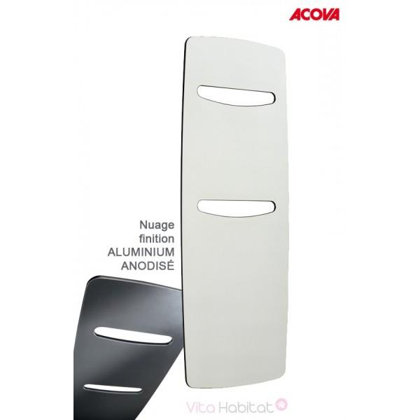 s che serviette acova nuage lectrique aluminium anodis 500w tgna 150 060 gf. Black Bedroom Furniture Sets. Home Design Ideas