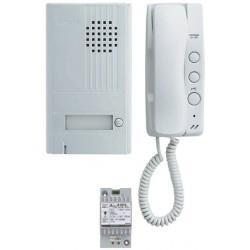 Kit portier audio 2 fils intégral AIPHONE DA1AS - 110357