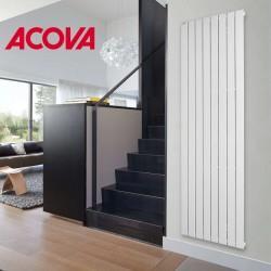 Radiateur électrique ACOVA - FASSANE Premium Vertical 1250W (hauteur 200) - inertie fluide - THXP125-200GF