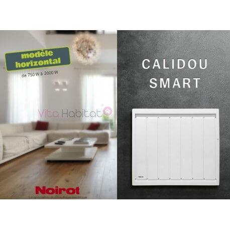 Radiateur Noirot CALIDOU Smart Horizontal - 1250W - N2514FTEZ