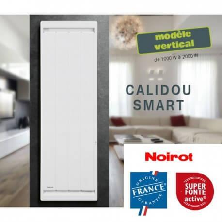 Radiateur Noirot CALIDOU Smart Vertical - 1000W - N2523FTEZ