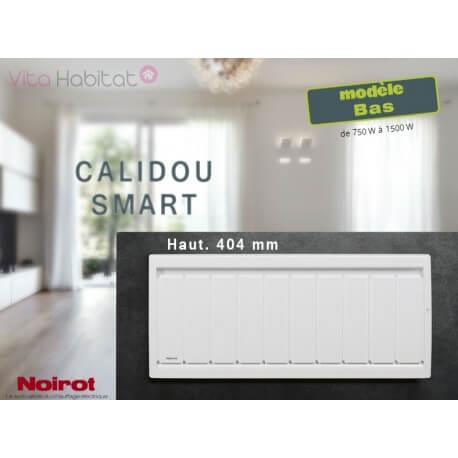 Radiateur Noirot CALIDOU Smart Bas - 1000W - N2533FTEZ