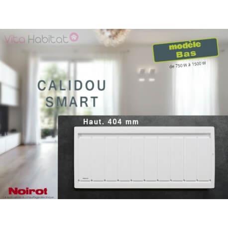Radiateur Noirot CALIDOU Smart Bas - 1500W - N2535FTEZ