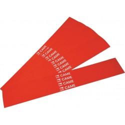 Conditionnement de 20 bandes rouges réfléchissantes adhésives pour lisse CAME G02809